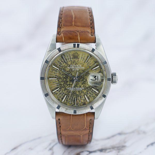 """1970 Rolex Oyster Perpetual Date1501 """"Green Jasper"""""""