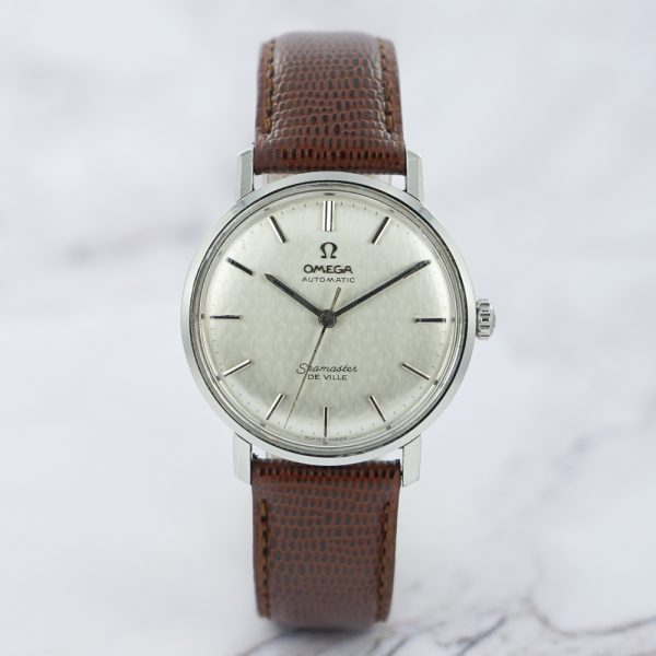 1960s Omega Seamaster Deville with texturized dial